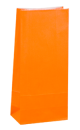 Citrus Orange Coloured Gift Paper Bag