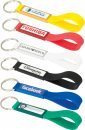 Silicone Sling Keyring with Dome